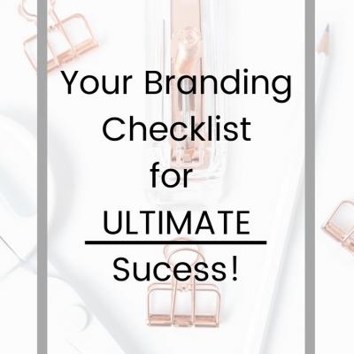 Branding Checklist for Influencers and Creativepreneurs!