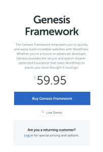 studio press genesis framework