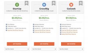 wordpress hosting site ground
