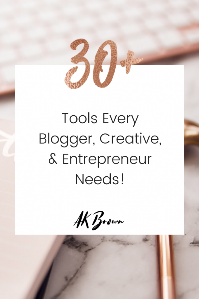 tools every blogger, influencer, and creative need