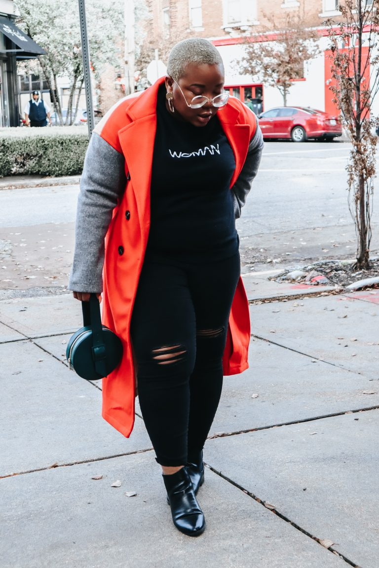 Colorblocked Coats Are My Thang!