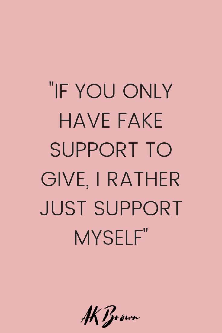 fake-support