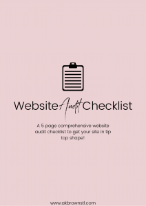 website-audit-checklist