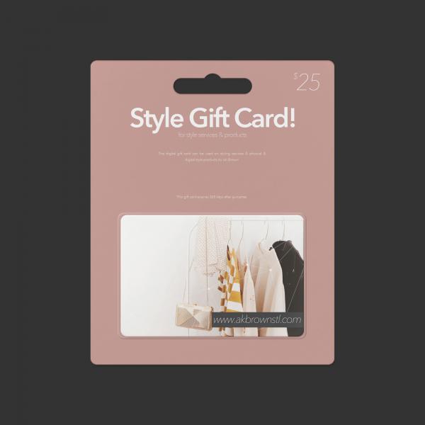 gift card ak brown stl