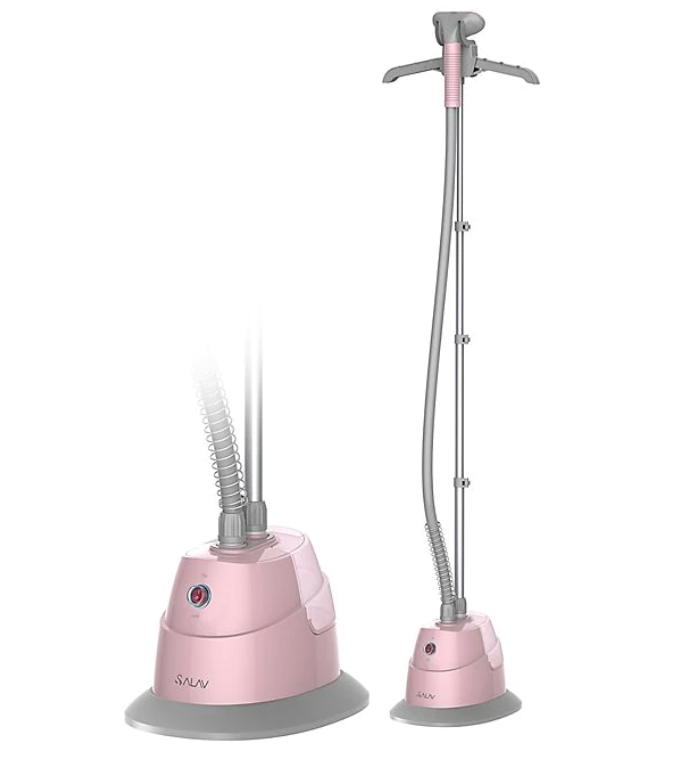 pink clothes steamer