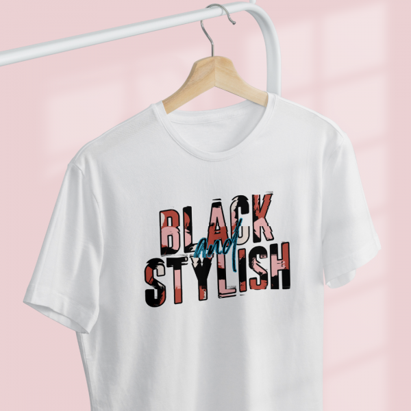 black and stylish